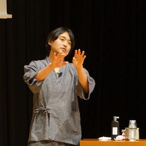 武田双雲さん講演写真