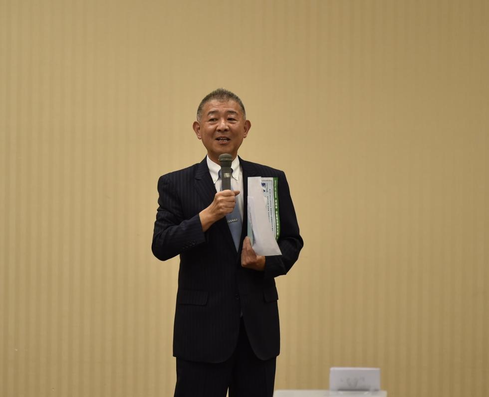 8/23(日)藤沢市民公開講演会 鈴木会長ごあいさつ